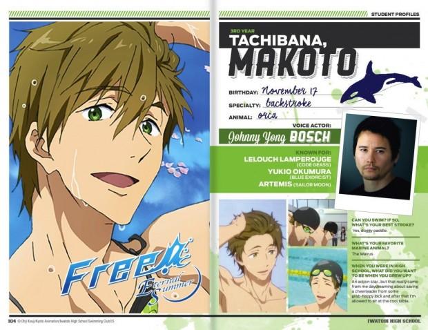 Makoto-English voice cast