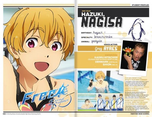 Nagisa-English voice cast