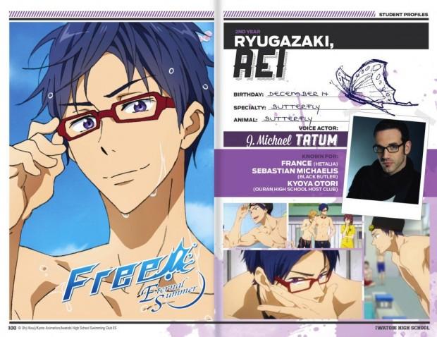 Rei-English voice cast