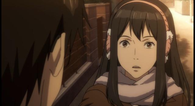 Satomi curious about Shinichi-Parasyte #5