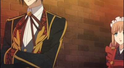 Waka the cafe manager-Amnesia anime series Episode #5