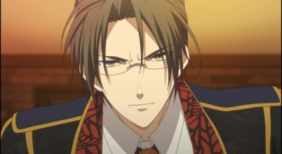 Waka the cafe manager angry-Amnesia anime series Episode #5