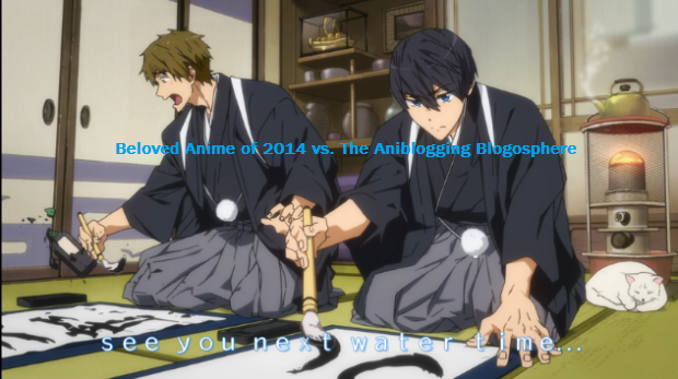 Free! Eternal Summer See you next water time cuter closer-Beloved Anime of 2014 vs. The Aniblogging Blogosphere