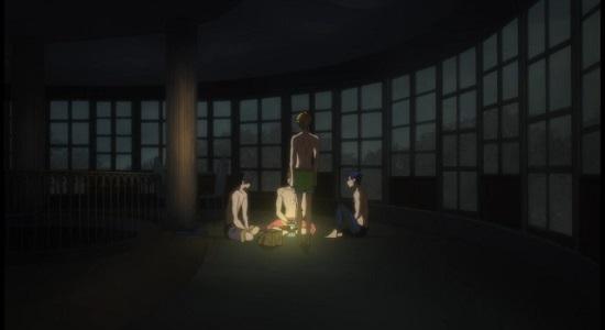Free! Iwatobi Swim Club Episode #6-Haru,Makoto, Rei, and Nagisa