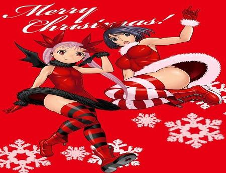 Merry Chritmas Dance in the Vampire Bund-Nozomu Tamaki