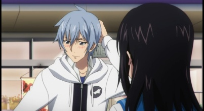 The more fanservice type of moments in Strike the Blood Part 2