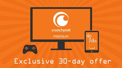 Crunchyroll Streaming Premium Service