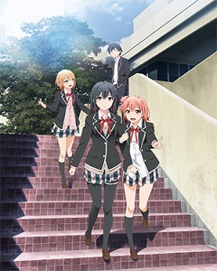 My Teen Romantic Comedy is Wrong As I Expected. 2 2015 anime series visual