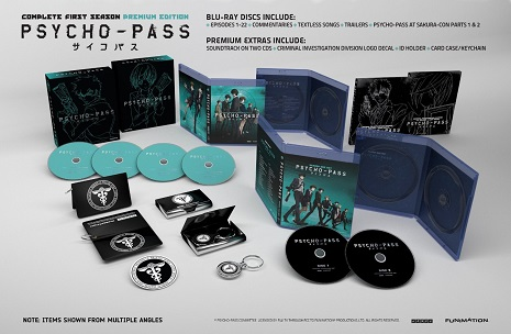 Psycho-Pass Complete First Season Premium Edition Blu-ray by FUNimation Entertainment