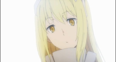Is It Wrong to Try to Pick Up Girls in a Dungeon anime-Bell dumbstruck by Aiz and her beauty Part 2