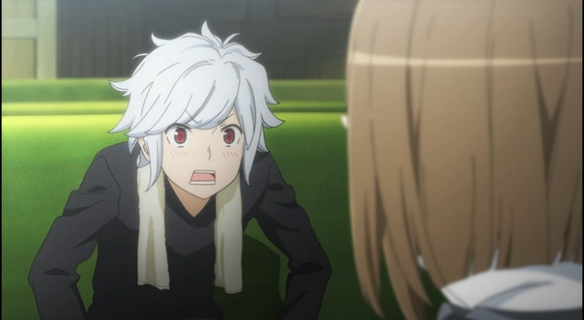 Is It Wrong to Try to Pick Up Girls in a Dungeon anime-Bell's cuteness