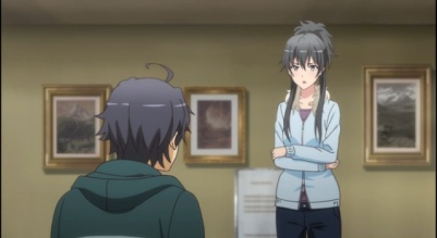 My Teen Romantic Comedy is Wrong As I Expected. 2-Hachiman and Yukino always at their biting and sarcastic attitude Part 1
