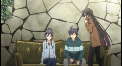 My Teen Romantic Comedy is Wrong As I Expected. 2-Hachiman and Yukino always at their biting and sarcastic attitude Part 4