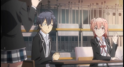 My Teen Romantic Comedy is Wrong As I Expected. 2-Tribe greeting joke