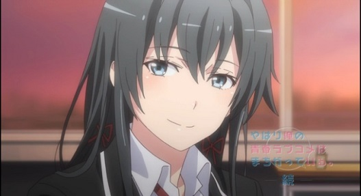 My Teen Romantic Comedy is Wrong As I Expected. 2-Yukino making Hachiman feel inferior