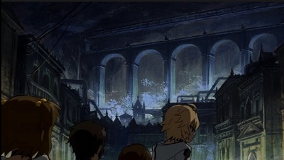 Seraph of the End anime series-The underground Vampire city Part 2