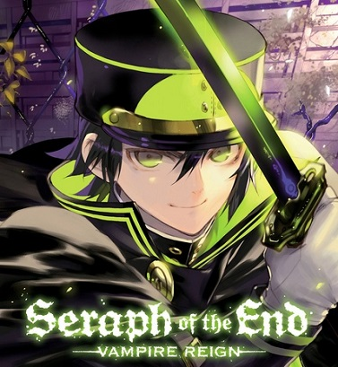 Seraph of the End manga Vol. 2 cover released in North America by VIZ Media