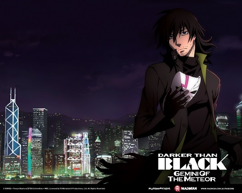 Darker Than Black 2009 anime series-Ryusei No Gemini (Twins of the Meteor) key setting