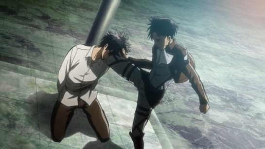 Eren going against what others think Part 3 in the Attack on Titan anime