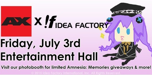 Idea Factory International to attend Anime Expo 2015