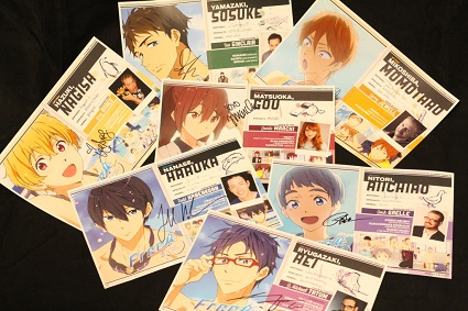 Set of Free! Eternal Summer anime mini posters-FUNimation Entertainment