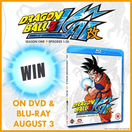 UK Anime Network Contest-Dragonball Z Kai Blu-ray