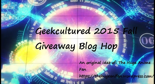 Geekcultured 2015 Fall Giveaway Blog Hop logo