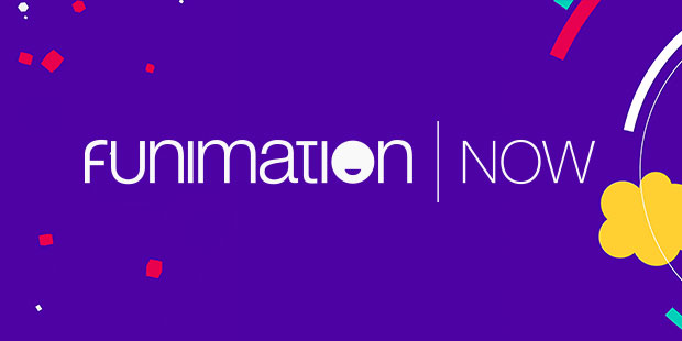 FUNIMATIONNOW logo introduction